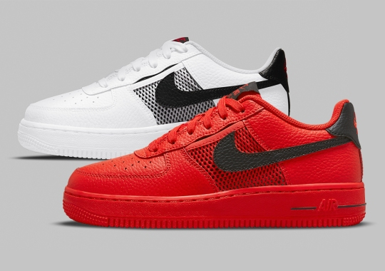 Mesh Pockets Appear On The Nike Air Force 1 Low