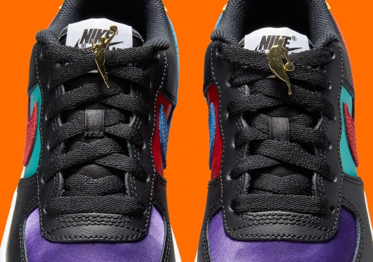 NBA And WNBA Lacelocks Appear On This Upcoming Nike Air Force 1 Low