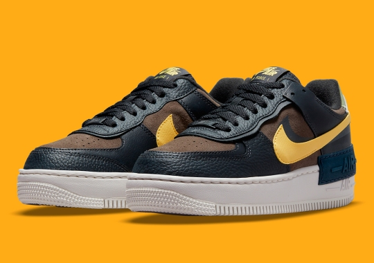 This Nike Air Force 1 Shadow Is Ready For The Changing Of The Seasons