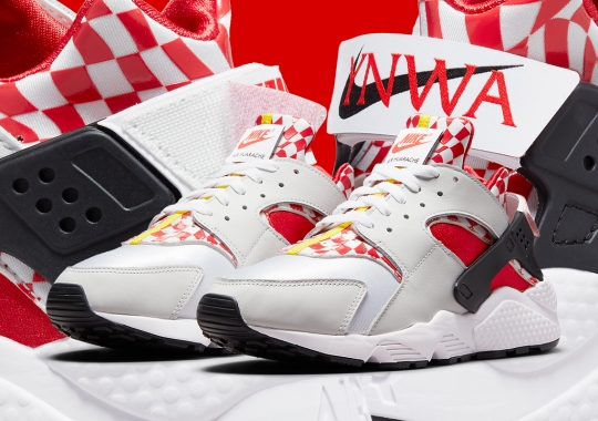 Nike Sings Along With Liverpool Through This Upcoming Air Huarache