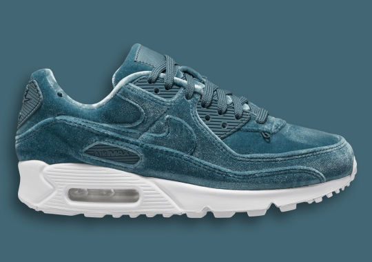 The Nike Air Max 90 Suits Up Entirely In Blue Velvet