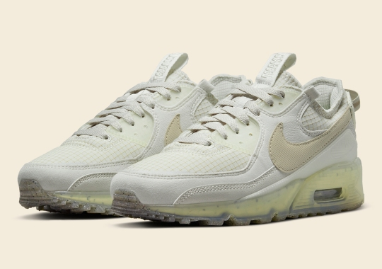 """The Women's Nike Air Max 90 Terrascape """"Light Bone"""" Is Expected On October 28th"""