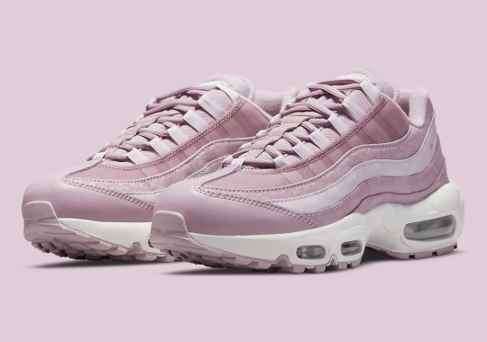 Pink Camouflage Appears On This Upcoming Women's Nike Air Max 95