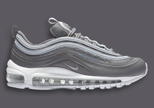 """The Nike Air Max 97 Gets Covered In """"Smoke Grey"""" And Silver"""