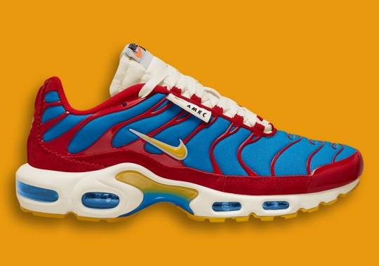 """The Nike Air Max Plus """"AMRC"""" Delivers A Vintage-Inspired Colorway"""