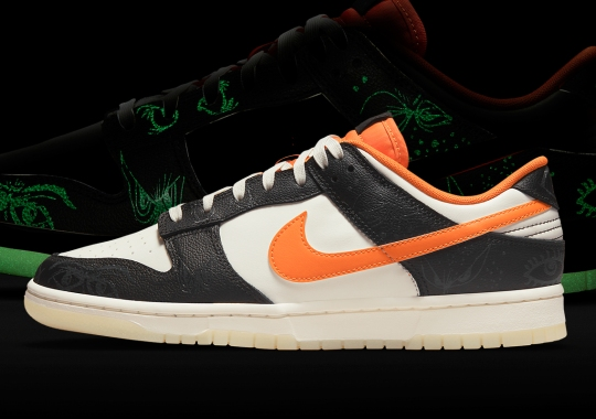 """Official Images Of The Nike Dunk Low """"Halloween"""""""