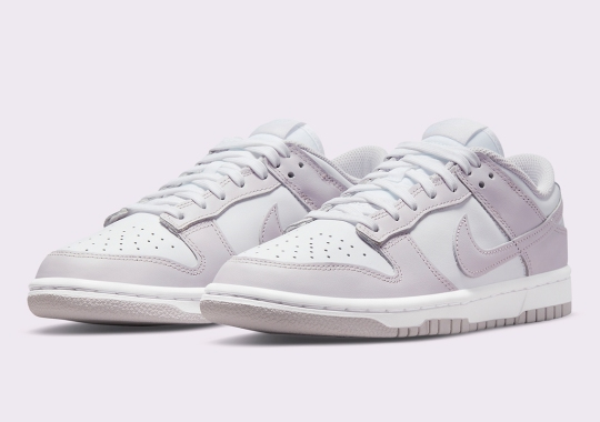 """Official Images Of The Nike Dunk Low """"Light Violet"""""""