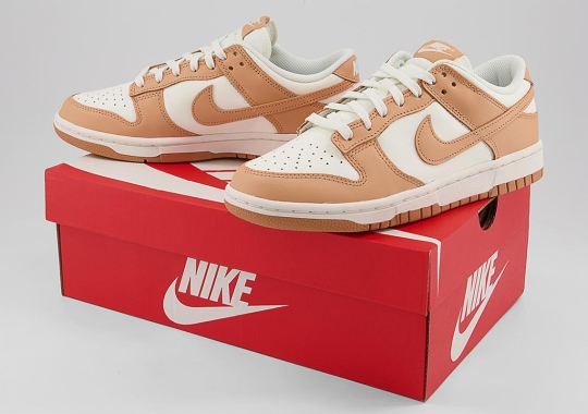 """The Women's Exclusive Nike Dunk Low """"Harvest Moon"""" Is Slated To Release This Winter"""