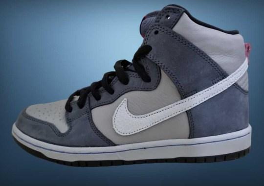 "Nike SB Dips The Dunk High In ""Medium Grey"""