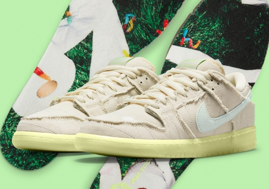 """Official Images Of The Nike SB Dunk Low """"Mummy"""""""