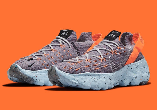 Multi-Colored Knits Cover The Nike Space Hippie 04