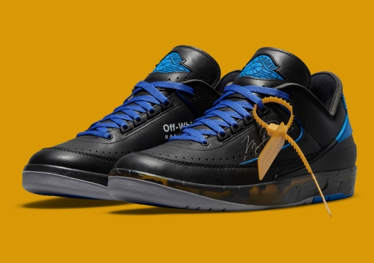 Official Images Of The Off-White x Air Jordan 2 Low In Black