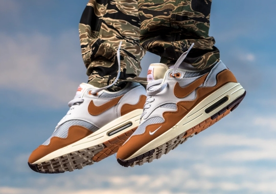 """Patta Continues Its Nike Air Max 1 Legacy With The Global Release Of The """"Monarch"""""""