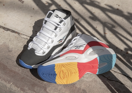 """The Reebok Question Mid """"Class Of 16"""" Celebrates The 5th Anniversary Of Iverson's Hall Of Fame Induction"""