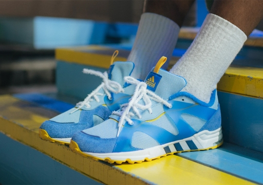 Sneaker Politics Remembers The 1984 World's Fair With Its adidas Consortium EQT Prototype