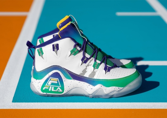 """Sprite And FILA Commemorate The """"Grant Hill Drinks Sprite"""" Ad With A Refreshing Grant Hill 1 Collaboration"""