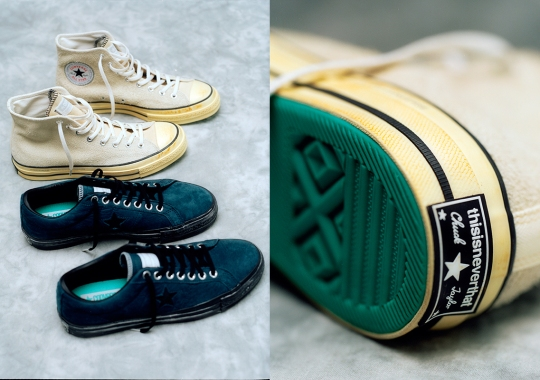 """South Korea's thisisneverthat Brings """"New Vintage"""" To Its First-Ever Converse Collaboration"""