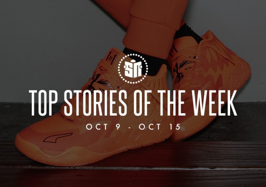 Ten Can't Miss Sneaker News Headlines From October 9th To October 15th
