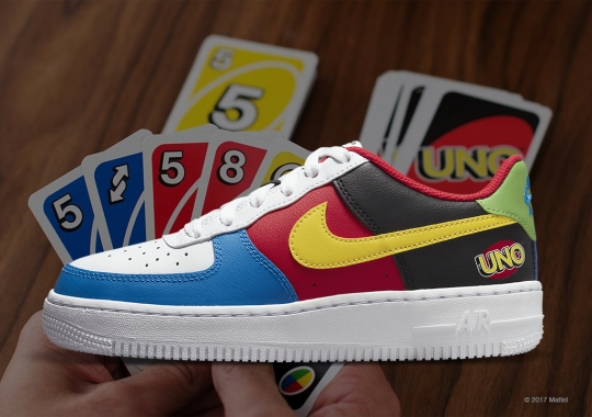 Nike Celebrates 50th Anniversary Of UNO With The Air Force 1